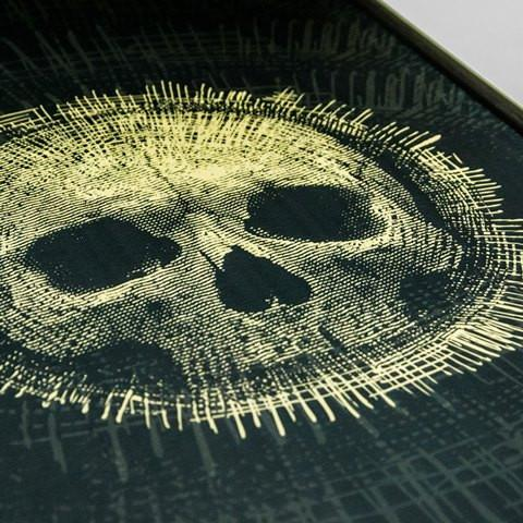 SKULL DESIGN Backgammon - Manopoulos