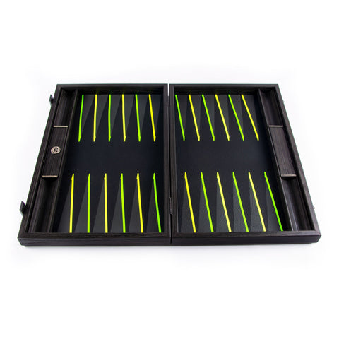 FLUO GREEN UV Backgammon - Manopoulos