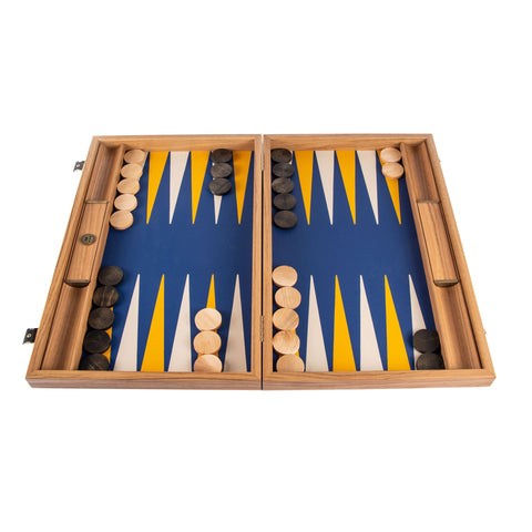 ROYAL BLUE Backgammon - Manopoulos