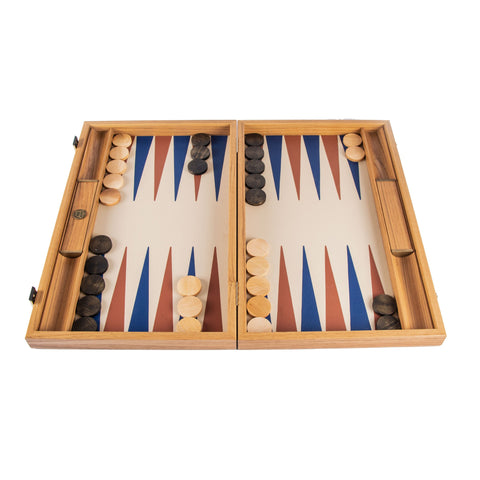 CHAMPAGNE BEIGE Backgammon - Manopoulos