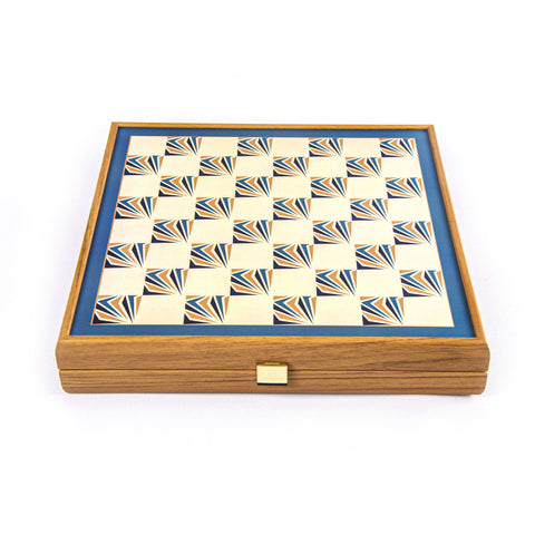 4 in 1 Combo Game - Chess / Backgammon / Ludo / Snakes - Manopoulos