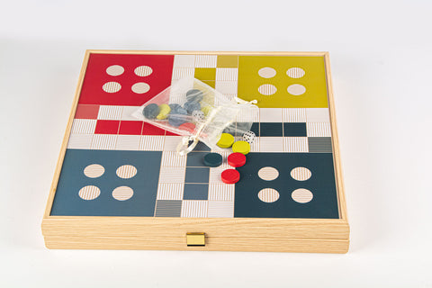 3 in 1 Combo Game - Chess / Ludo / Checkers- Manopoulos