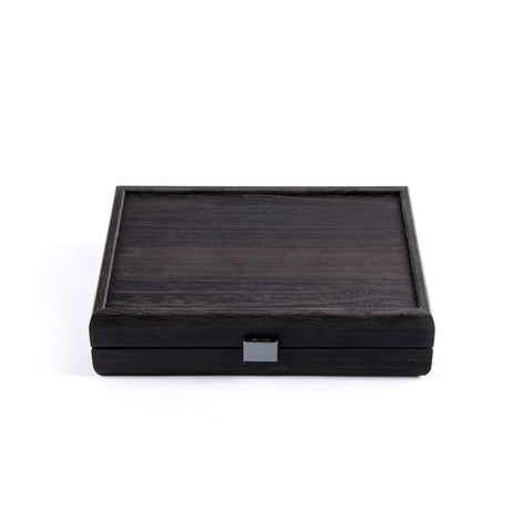 DOMINO SET in Black wooden replica case - Manopoulos