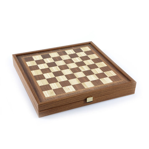 CLASSIC STYLE - 2 in 1 Combo Game - Chess / Backgammon (Large) - Manopoulos