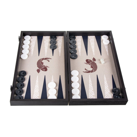 JAPANESE KOI FISH Backgammon - Manopoulos
