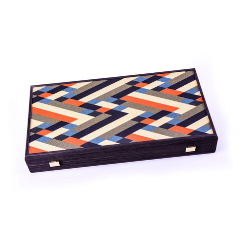 ABSTRACT MULTICOLOR DESIGN Backgammon - Manopoulos