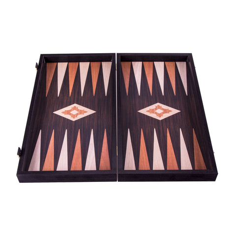 WENGE REPLICA WOOD Backgammon - Manopoulos