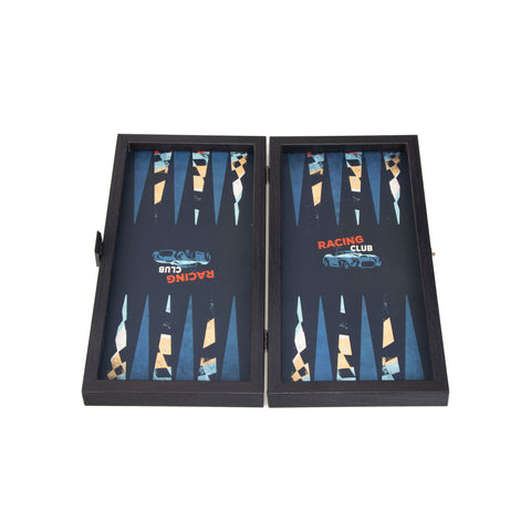 RACING CAR - Travel Size Backgammon - Manopoulos