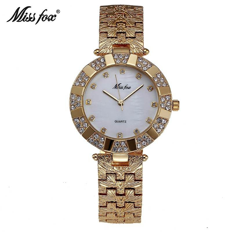 MISSFOX luxury women watch