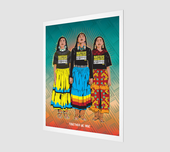 TOGETHER WE RISE (Art Print)