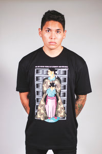 Grownup Navajo (Men's Black Crew)