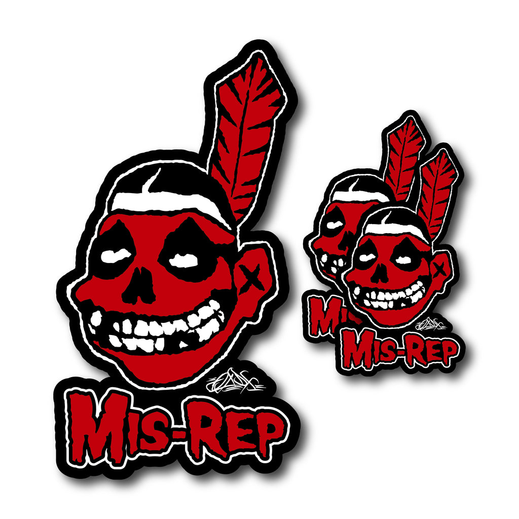 MIS-REP Sticker Pack