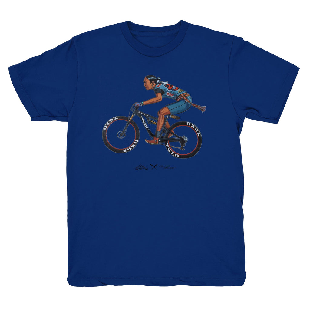 Off The Trail - OXDX x Craig George Collab Tee (Royal)
