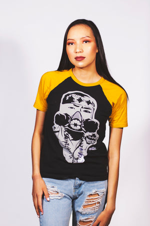 Chemical Warfare (Uranium Yellow Color Way) Uni-sex Short Sleeve Tee