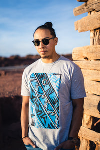 Pattern Tee (Gray Men's Crew)