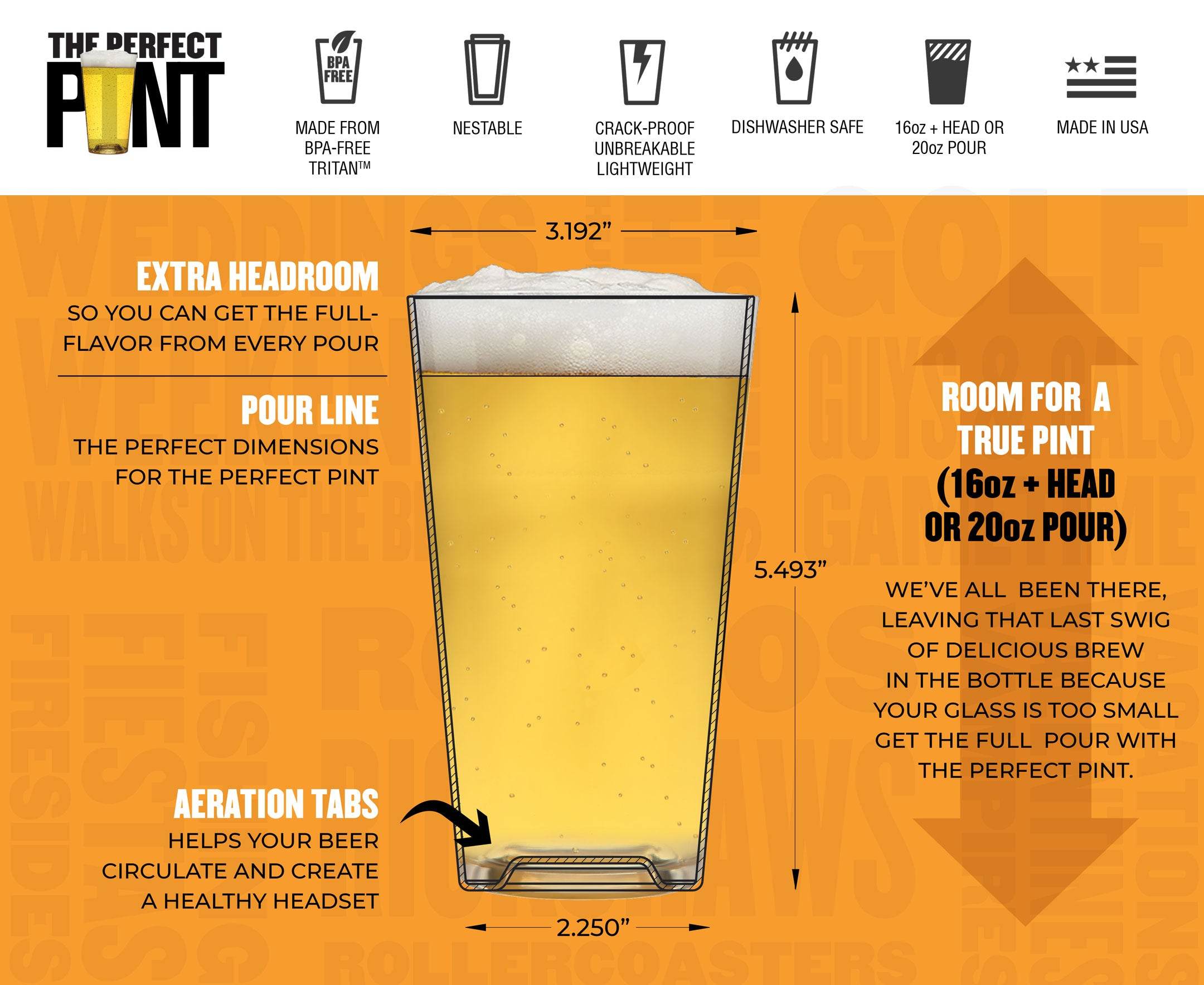 The Perfect Pint Healthy Head Attributes