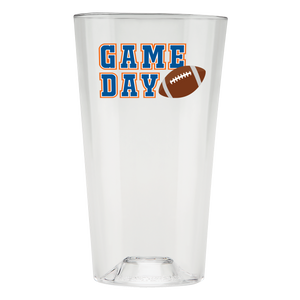 The Perfect Pint - Game Day Your Color Ways  - 6pk - USA Made, BPA-Free, Unbreakable & Dishwasher Safe