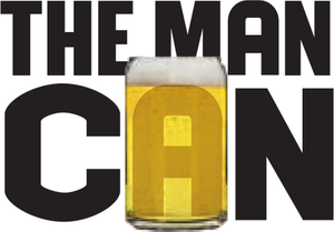 The Man Can - Limited Edition Funnier for Father's Day - 6 Pack - USA Made, BPA-Free, Unbreakable & Dishwasher Safe