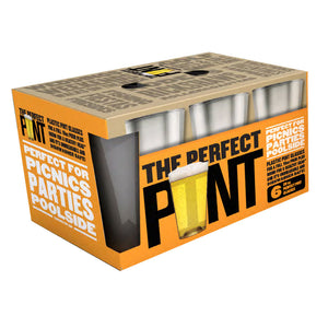 The Perfect Pint™ Halloween 6pk - USA Made, BPA-Free, Unbreakable & Dishwasher Safe