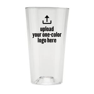 The Perfect Pint® - 48+, One-Color Promotional - USA Made, BPA-Free, Unbreakable & Dishwasher Safe
