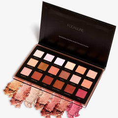 Focallure™ Metallic Day To Night 18-Color Eyeshadow Palette