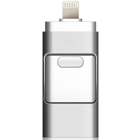 Three-In-One USB Flash Drive - Connect And Store Everything On 1 Device