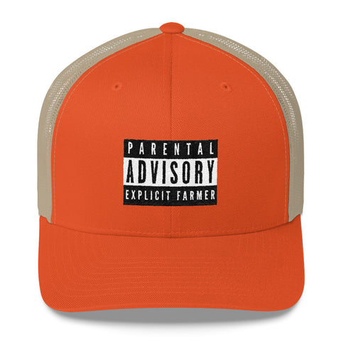 Explicit Farmer Trucker Cap