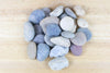Wholesale: Gray Mix River Stones [Min Order 6 Cups]