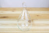 Wholesale: Teardrop Riverstone Terrarium with Air Plant [Min Order 12]