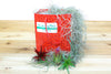 Holiday Gift Wrapped Air Plant Grab Bag of 5 Air Plants on a Bed of Spanish Moss from AirPlantShop.com