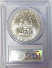 1998-S $1 Crispus Attucks Silver Commemorative Dollar PCGS MS70
