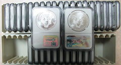 1986-2018 American Silver Eagle 33 Coin Lot NGC MS69