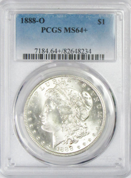 1888 O $1 Morgan Silver Dollar PCGS MS64
