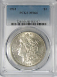 1903 $1 Morgan Silver Dollar PCGS MS64