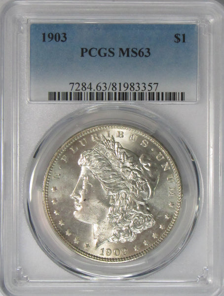 1903 $1 Morgan Silver Dollar PCGS MS63