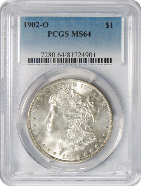 1902 O $1 Morgan Silver Dollar PCGS MS64
