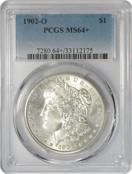 1902 O $1 Morgan Silver Dollar PCGS MS64+