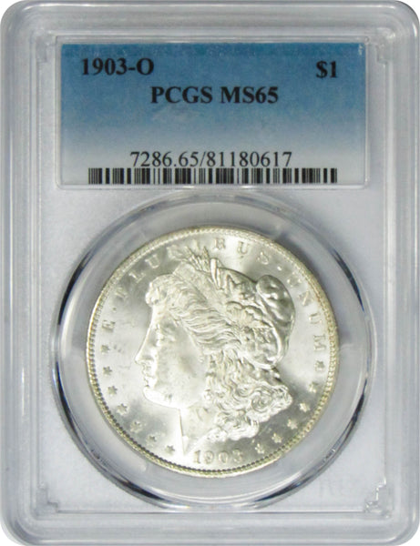 1903-O $1 Morgan Silver Dollar PCGS MS65
