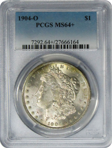 1904-O $1 Morgan Silver Dollar PCGS MS64+