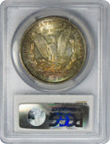 1904-O $1 Morgan Silver Dollar PCGS MS64 Rainbow Toning