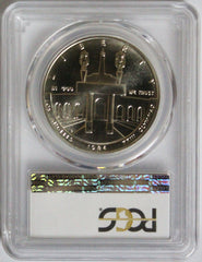 1984-P $1 Olympic Commemorative MS70 PCGS