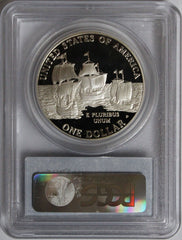 2007-P $1 Jamestown Commemorative PR70DCAM PCGS