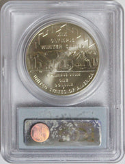 2002-P $1 Olympics-Salt Lake City Commemorative MS70 PCGS