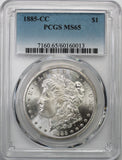 1885-CC Morgan Silver Dollar PCGS MS65