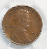 1909-S VDB 1C Lincoln Wheat Cent VF30BN PCGS