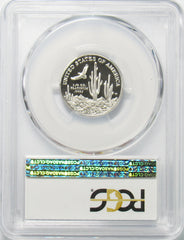 2001 W $25 1/4th Oz. Platinum Statue of Liberty PCGS PR70DCAM