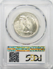 1943 50¢ Walking Liberty Half Dollar PCGS MS65