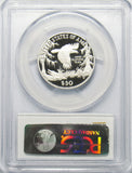 1999 W $50 1/2 Oz. Platinum Statue of Liberty PCGS PR70DCAM