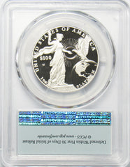 2015 W $100 1 Oz. Platinum Statue of Liberty PCGS PR70DCAM First Strike