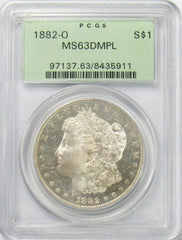 1880 O $1 Morgan Silver Dollar PCGS MS63DMPL